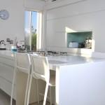 כיווני האור הנכנסים אל המטבח
